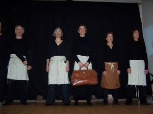 Segunda Intervención del Grupo de Teatro del Oprimido Sierra Norte, dirigido por Olí Olé Teatro